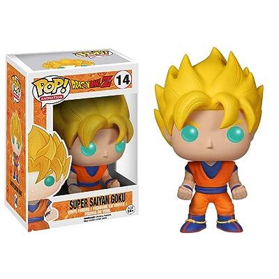 Funko POP! Dragon Ball Z Vinyl Figure Super Saiyan Goku: Funko Pop! Animation:: Toys & Games