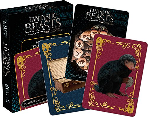 Fantastic Beasts- Creatures Playing Cards