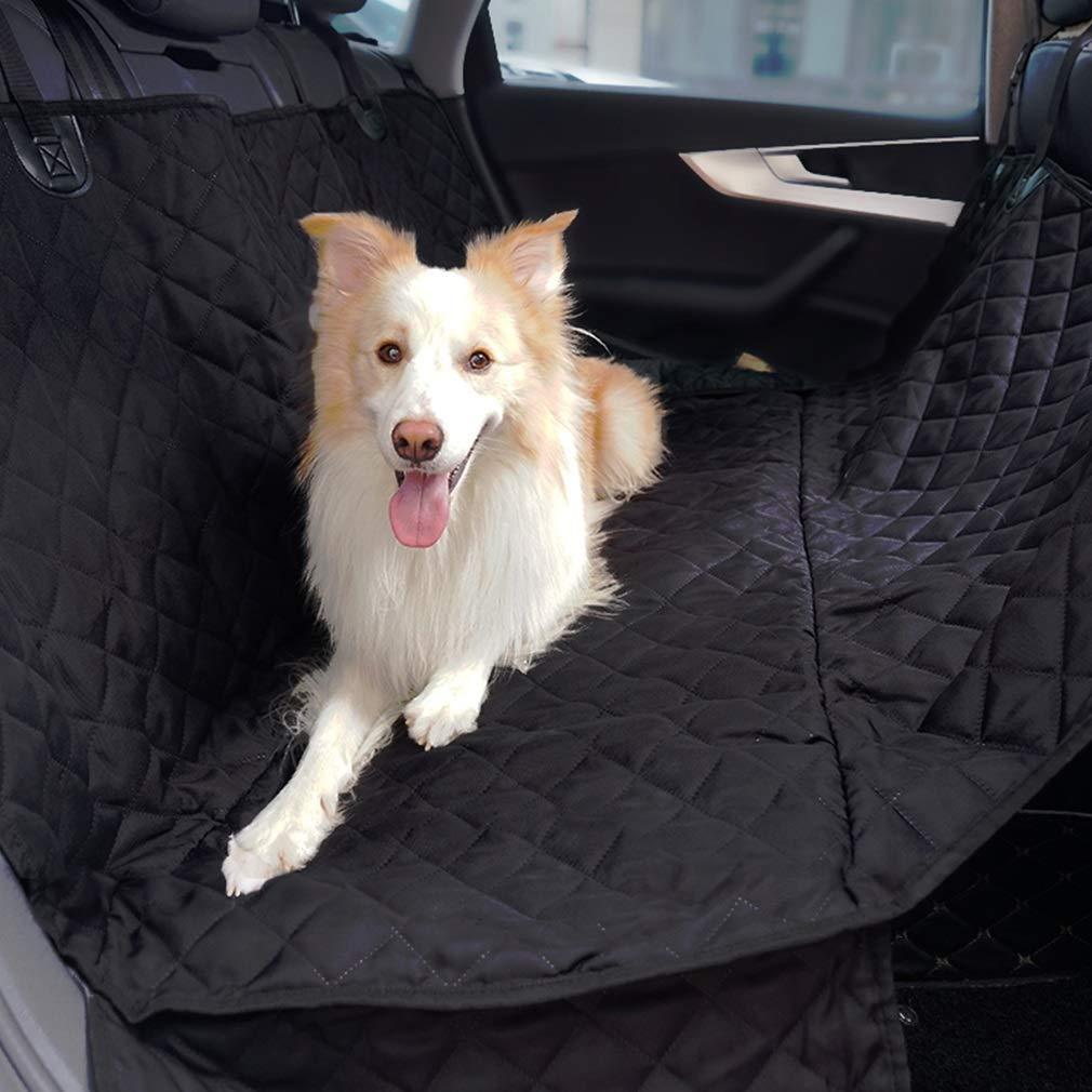 Dog Seat Cover Cars Seatbelt Leash Waterproof Nonslip Backing Seat Anchors 147 x 137cm