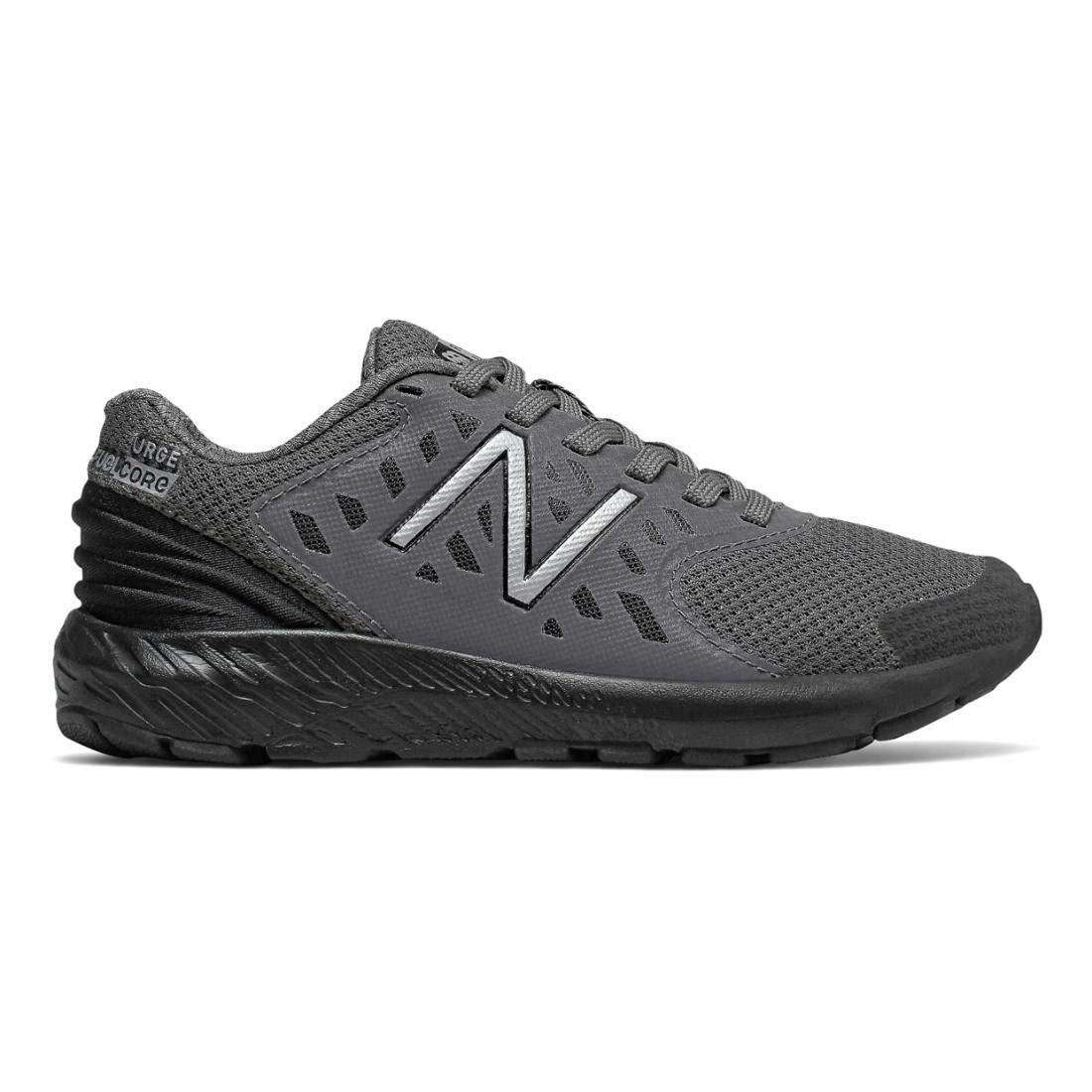 New Balance Boys' Urge V2 FuelCore Running Shoe, CASTLEROCK/BLACK, 4.5 W US Big Kid