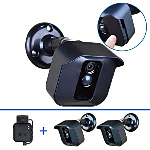 Blink XT Mount Holder Bracket for Blink XT Blink XT2 Home Security Camera Weather Proof Anti-Sun Glare UV Protection 360 Degree Protective Adjustable Indoor/Outdoor,Easy Replace Camera Battery(2 Pack)