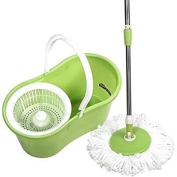 Amazon Com Pro 360 Rotating Spin Magic Mop Bucket No Foot