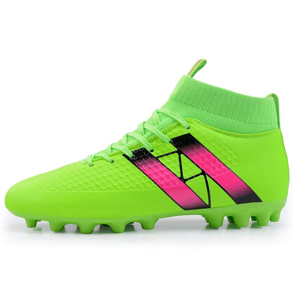LYLZR Taille 33 44 Chaussures de Soccer pour Enfants
