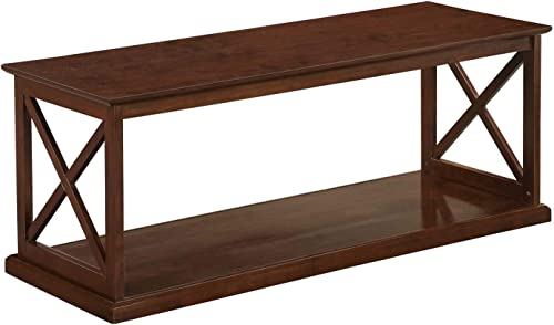 YAHEETECH Lift Top Coffee Table with Hidden Compartment Storage Shelf, Center Tables for Living Room Office Reception Room, Rustic Brown