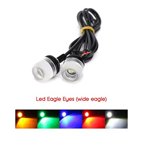 2 luces de estacionamiento LED para coche, atornillable, impermeables, homologadas