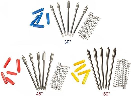Yakamoz Pack de 15 cuchillas para cortador de vinilo de corte ...