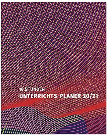 s+w Verlag Unterrichts-Planer A4 ROT - Schuljahr 2021-2022 - Gebunden - Lehrerkalender - Unterrichtsplaner - s + w 19040