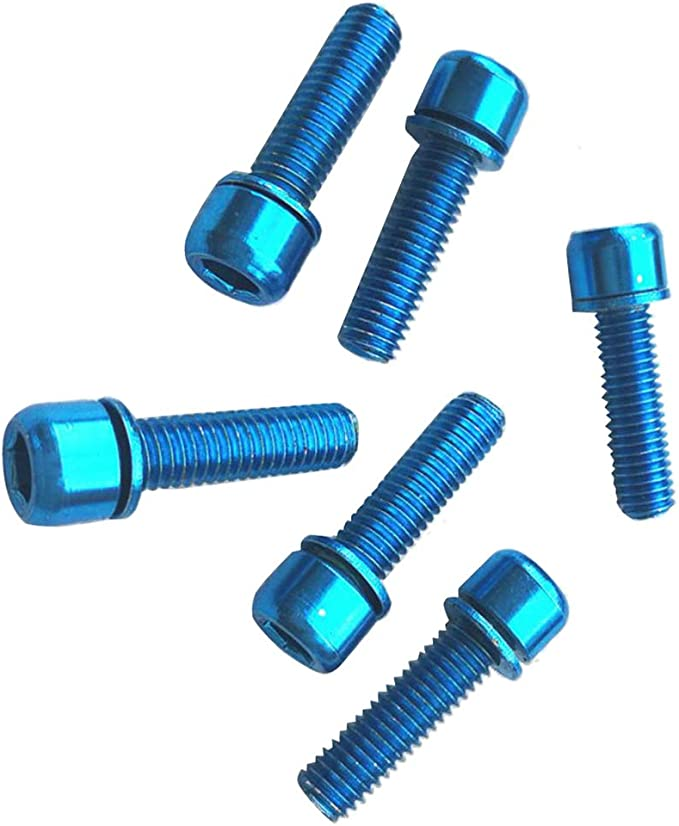 Bike Pedal Cage Anti-Slip Screws Bolt M4 x 0.7 for  MTB//Fixed Gear//Road Bicycle