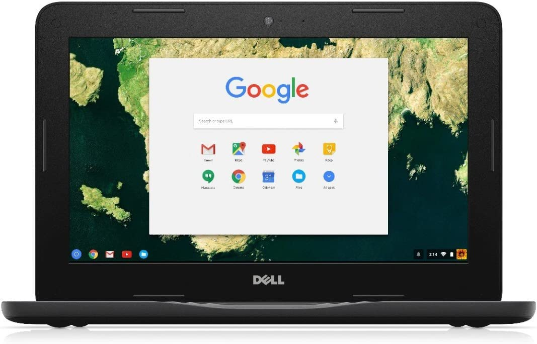 Dell Chromebook 11 3180 83C80 11.6-Inch Traditional Laptop (Black) (Renewed)