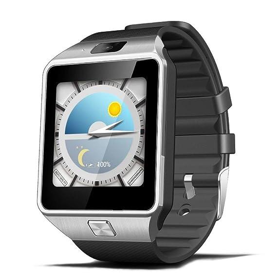Reloj inteligente deportivo con camara para iphone y Android Digital de mujer y hombre unisex