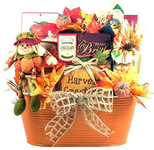 Seasonal Specialties Gourmet Fall Thanksgiving or Halloween Gift Basket -Deluxe