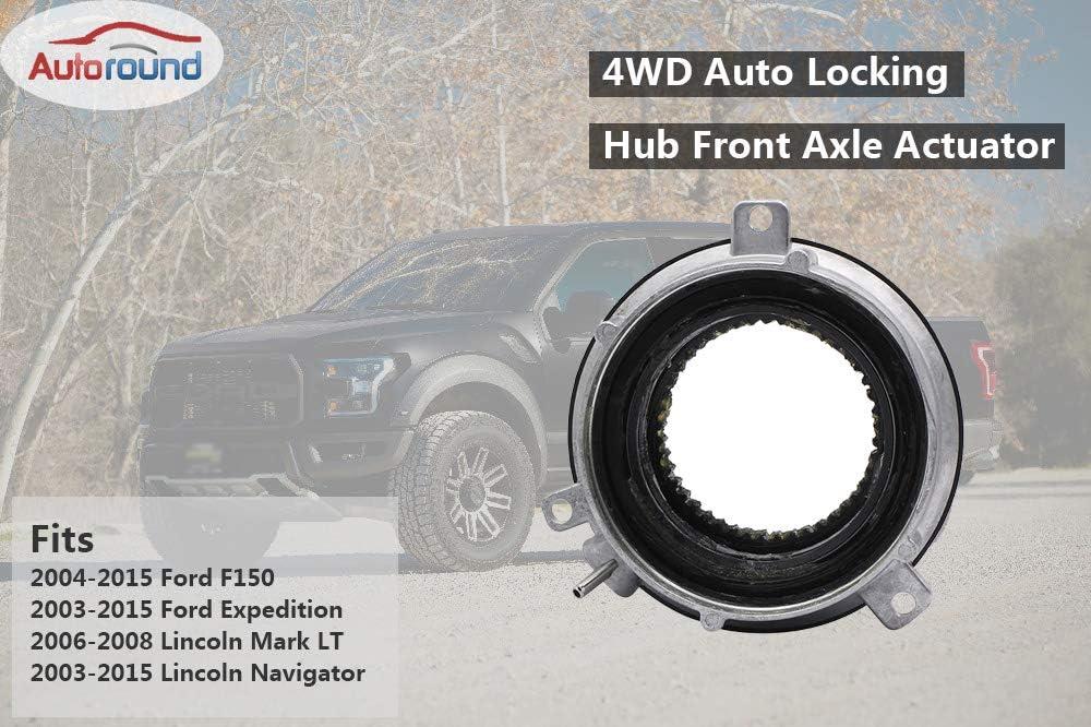 Autoround Auto Front 4WD Locking Hub Actuator for Ford F150 600 ...