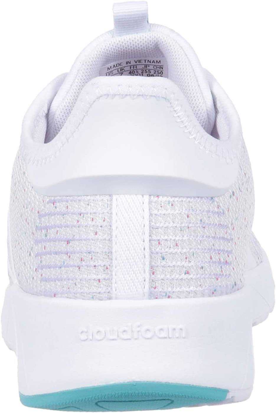 adidas Women's Questar X BYD Running Shoe White White Shock Pink