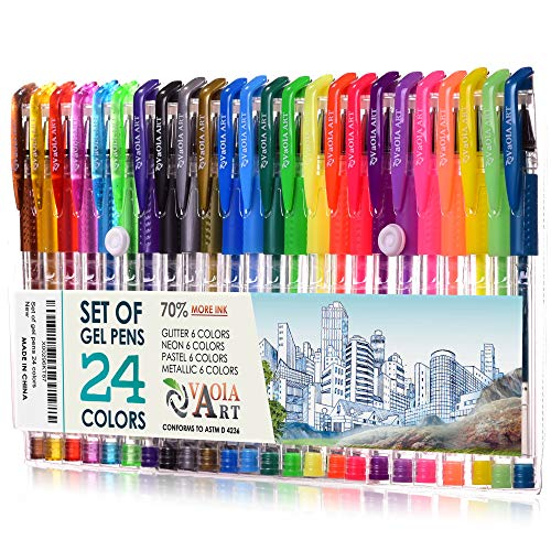 Color Gel Pens Coloring Spirograph product image