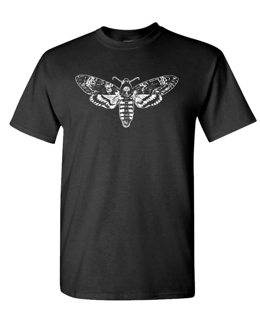Live Nice Deaths Head Moth S T Shirt 5496