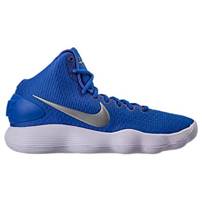 newest collection f507f 6bd93 Image Unavailable. Image not available for. Color  Nike Men s Hyperdunk  2017 TB Basketball Shoe Game Royal Metallic ...
