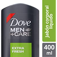 Dove Jabón Líquido Corporal Men+Care Extra Fresh, 400 ml