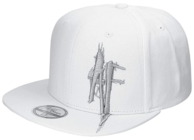 a8aba3183 IN FLAMES Anders Fridéns Logo Snapback Cap White: Amazon.co.uk: Clothing