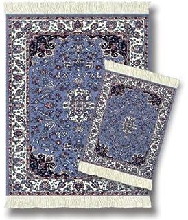 Elegant Lextra (Contemporary Jaipur), MouseRug U0026 CoasterRug Set, Blues, Ivory And  Pink