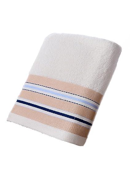 Toalla de algodón Simple Absorbente Toallas Suaves Grandes clásicas Pareja de Adultos de Gama Alta Espesar