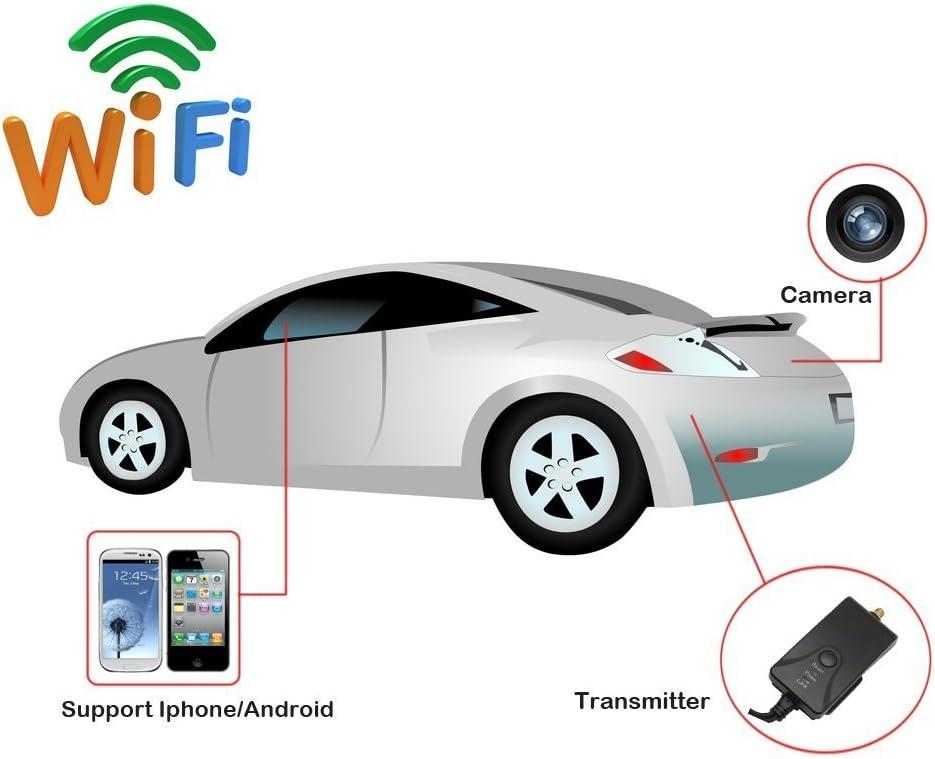 androides System IOS APP Ipad BW 30fps Wifi Auto-Kamera-/Übermittler Wifi video/übermittler-/Übertragung f/ür Auto-R/ückseiten-Unterst/ützungskamera Cctv Kompatibel f/ür Iphone