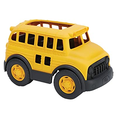 Green Toys School Bus: Toys & Games