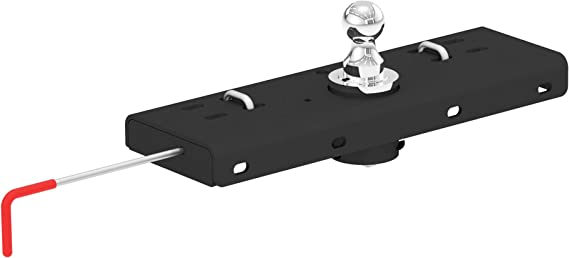 CURT 60607 Double Lock Gooseneck Hitch with Flip-and-Store Ball