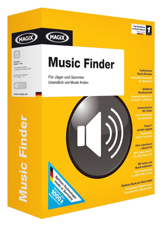 Magix Music Finder: Amazon co uk: Software