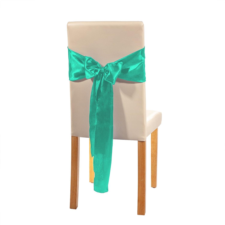 Stuhlhusse Stuhlüberzug Stuhlbezug Stuhl Hussen Bezug Schleife Hochzeit Rubinrot