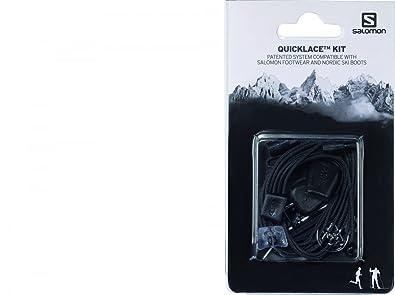 Salomon Quicklace Kit Schuhbänder Grau Damenherren