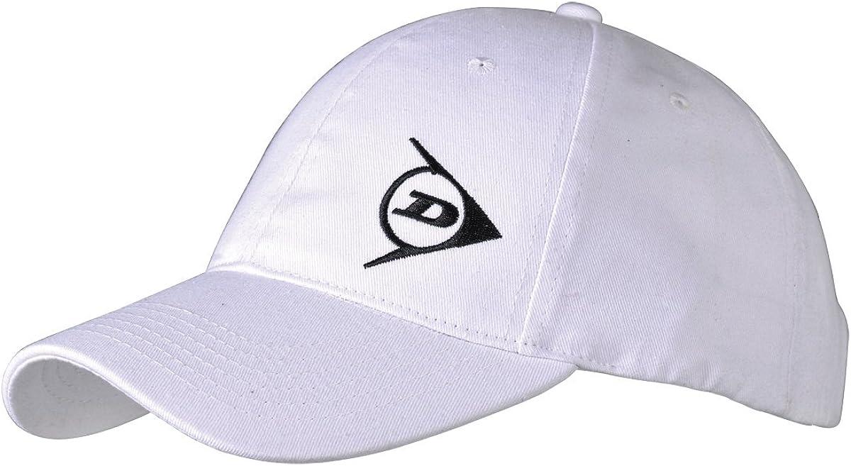 Dunlop Gorra Blanco y Negro: Amazon.es: Ropa y accesorios