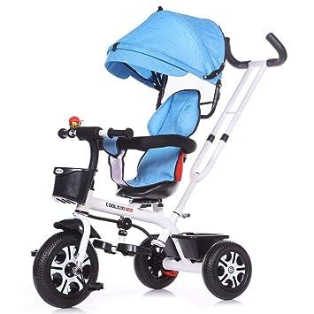 XYQ Carrito de bebé-Carro de bebé Marco de Acero al Carbono Bicicleta 1-