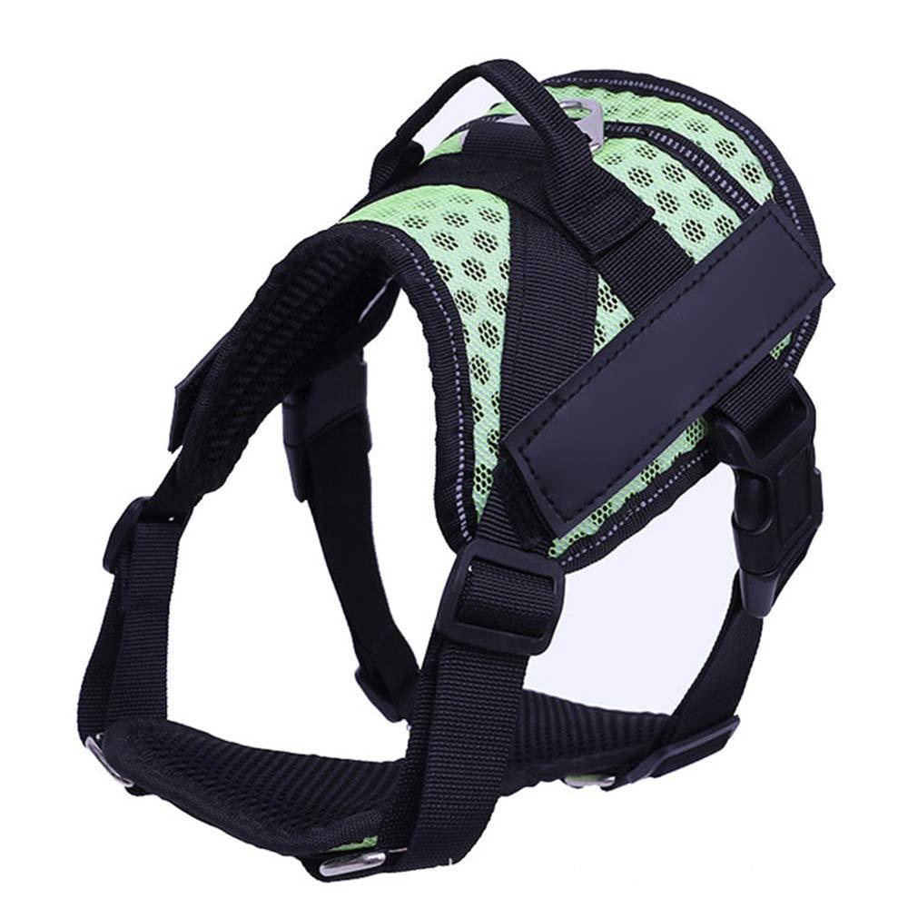 C Large C Large Big Dog Harness No Pull Adjustable Pet Reflective Oxford Soft Vest for Large Dogs Easy Control Harness