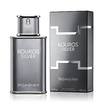 a2d54f3a394 Amazon.com : Kouros Silver By Yves Saint Laurent 3.4 oz Eau De Toilette  Spray for Men : Beauty