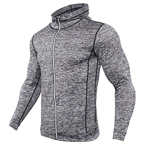 Hooded Ultimate Pullover Cotton (MASS21 Men's Ultimate Cotton Heavyweight Pullover Hoodie Sweatshirt Gray XXL)