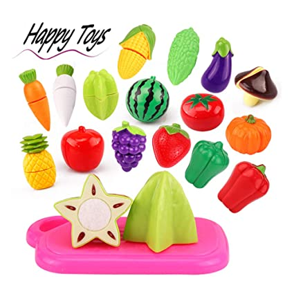 Magnificent Gbell Kids Kitchen Set 20Pcs Pretend Play Food Playset Cutting Fruits And Vegetables Educational Toy Gifts For Kids Toddler Boys Girls Ages 2 3 4 5 Download Free Architecture Designs Jebrpmadebymaigaardcom