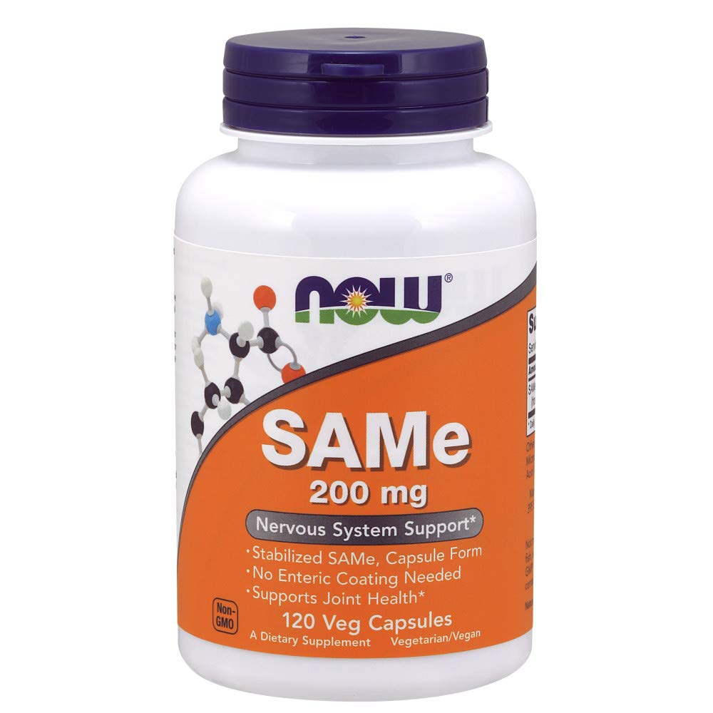 Now Supplements, Same (S-adenosylmethionine)200 mg, 120 Veg Capsules