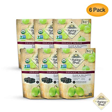 Sunny Fruit - Frutas secas – 1, 3 y 6 bolsas: Amazon.com ...