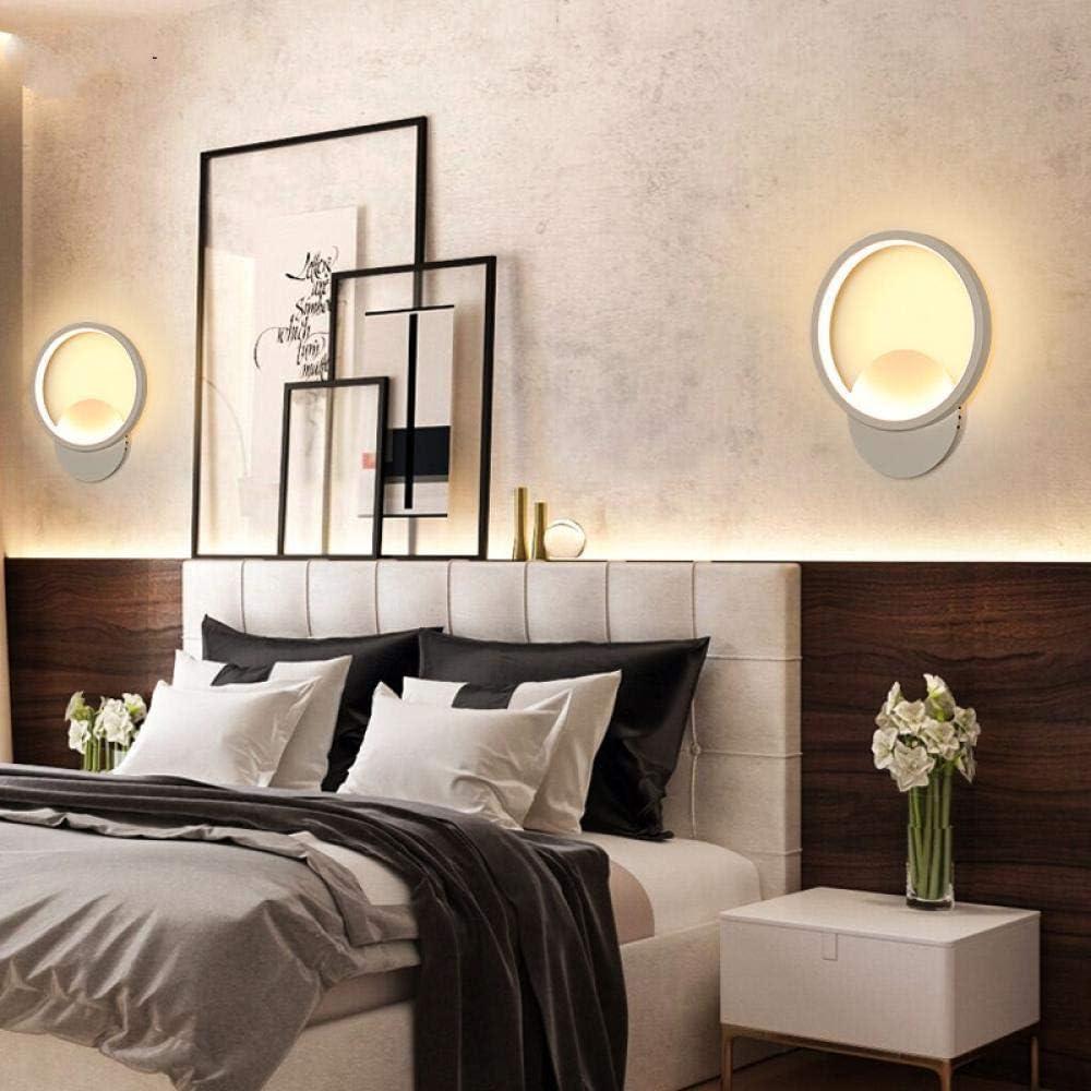 Innenwandleuchte Moderne Led-Wandleuchten Für Schlafzimmer Nachttischleuchten Weiß Schwarz Wandleuchte Aluminium Korridor Dekorieren 8 3
