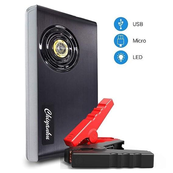 Amazon.com: TZF 600 A 18000 mAh arrancador de coche portátil ...