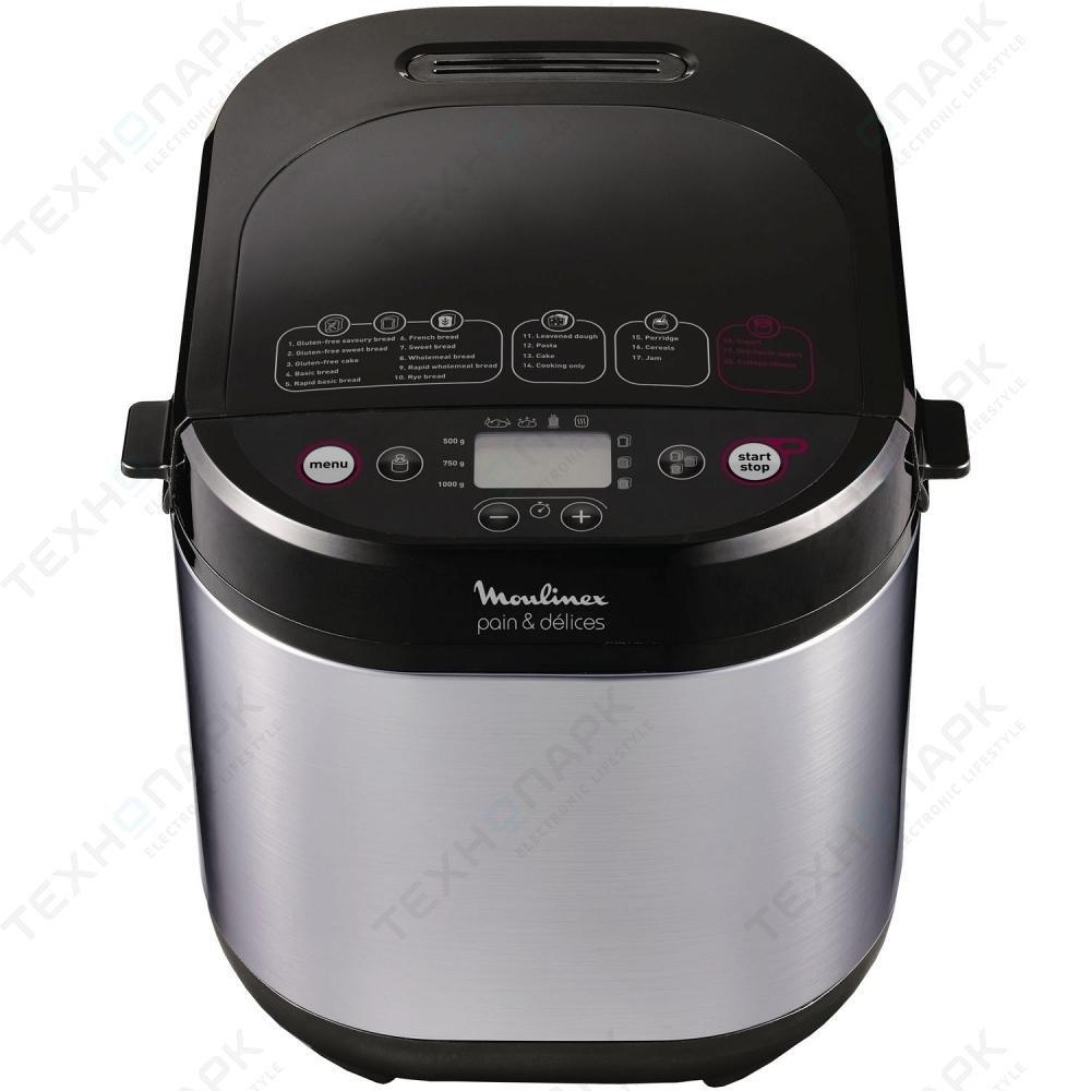 Máquina para el pan Moulinex Pain & Delices ow240e con 20 ...