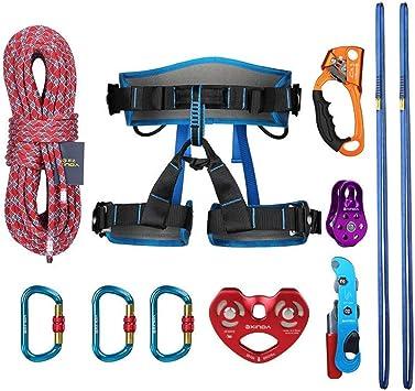 HANG Kit de Escalada en Roca Escalada al Aire Libre Equipo de ...