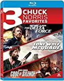 Delta Force/Lone Wolf Mcquade/Code of Silence Triple Feature Bu-ray [Blu-ray]