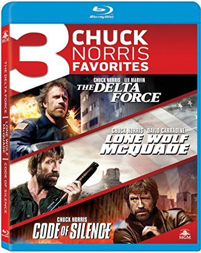 Blu-ray : 3 Chuck Norris Favorites: The Delta Force / Lone Wolf McQuade / Code of Silence (Widescreen)