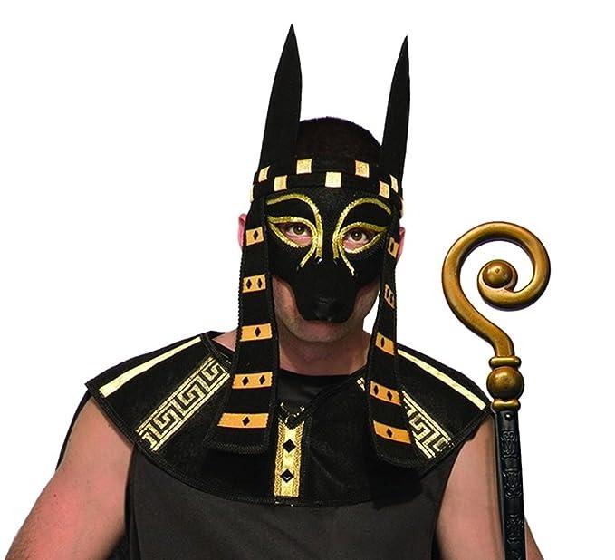 Forum Novelties Mystical Creature Anubis Mask Mens Costume Accessory Black Dog Egypt Egyptian Roman