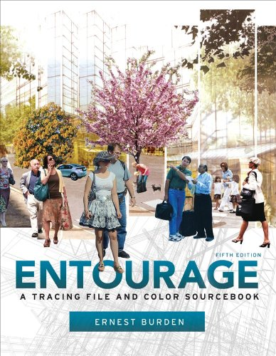 Entourage 5th Edition: A Tracing File and Color - Glasses Entourage