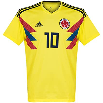 a4a1aca79 Amazon.com   adidas Colombia Home James Jersey 2018 2019   Sports ...