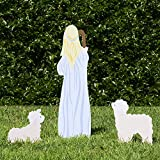 Outdoor Nativity Store Classic Outdoor Nativity Set - Shepherd and Sheep Scene