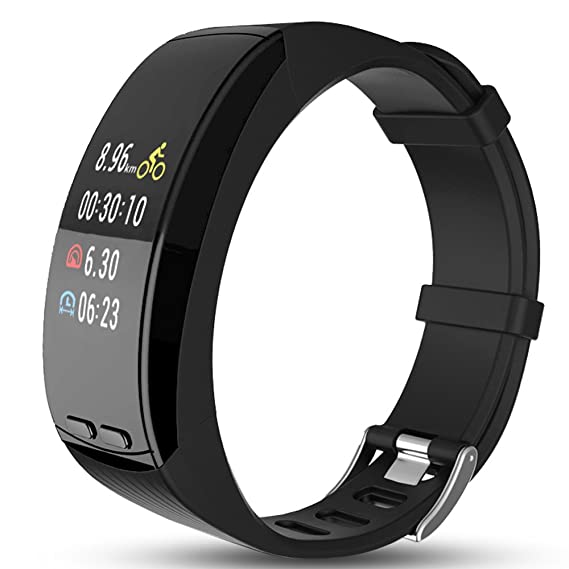 Amazon com: Qida Smart GPS Watch with 0 96'' OLED Color