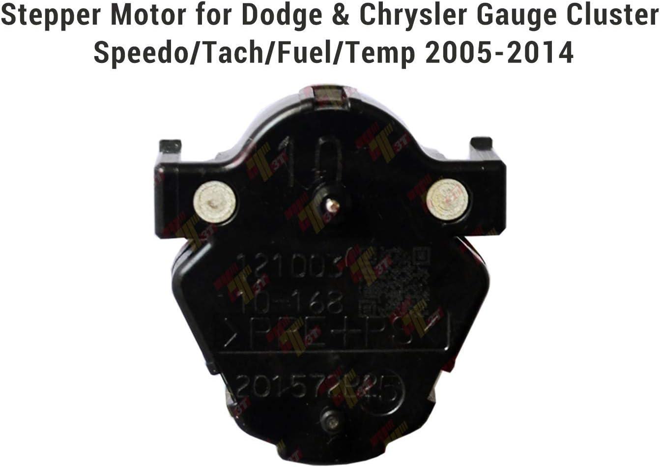 Stepper Motor for Dodge /& Chrysler Gauge Cluster Speedo//Tach//Fuel//Temp 2005-2014